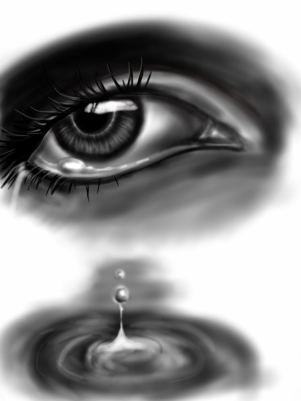 Drawing A Teardrop: Tear Drop By Jeageractive On DeviantArt