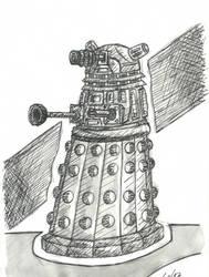 INKTober 2015 - Dia 5/31 : Daleck