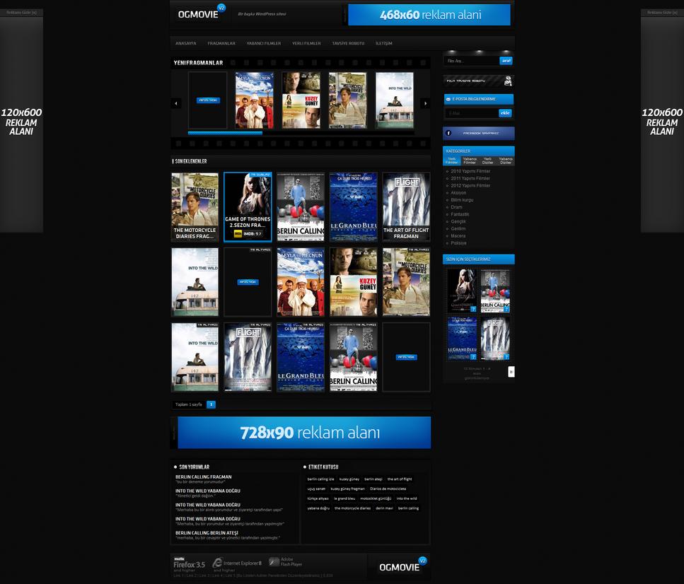 Tema/Template de Filmes p/ Wordpress (OGMOVIE) by NoahWilhelm on ...