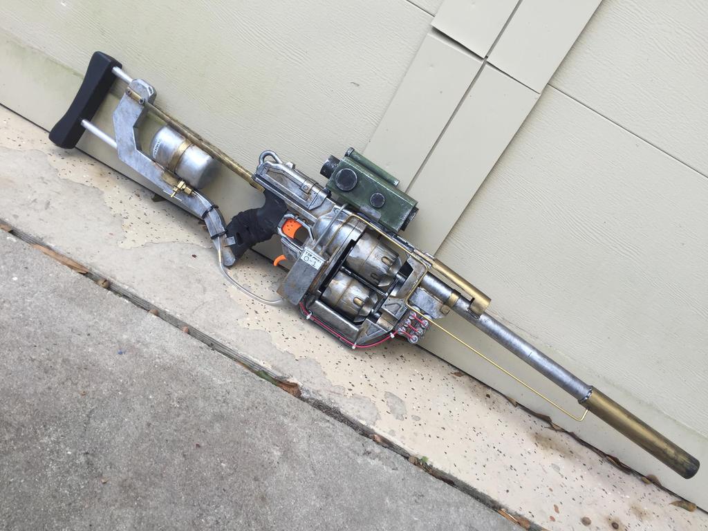 Fallout 4 Inspired Rifle by jonyman123