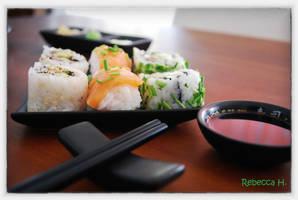 Sushi - made by Rebecca - 3 by rebecca17