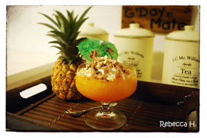 Wibbly Wobbly Clementine Jelly by rebecca17