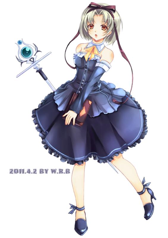 Mage - Girl 01 by WhiteRiceBear on DeviantArt