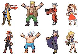 Dragon Quest 8 Pokemon Trainer by Clakysprites