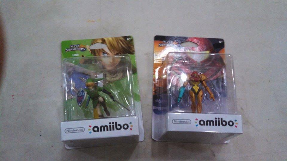 Amiibos Samus And Link by Cartoontriper