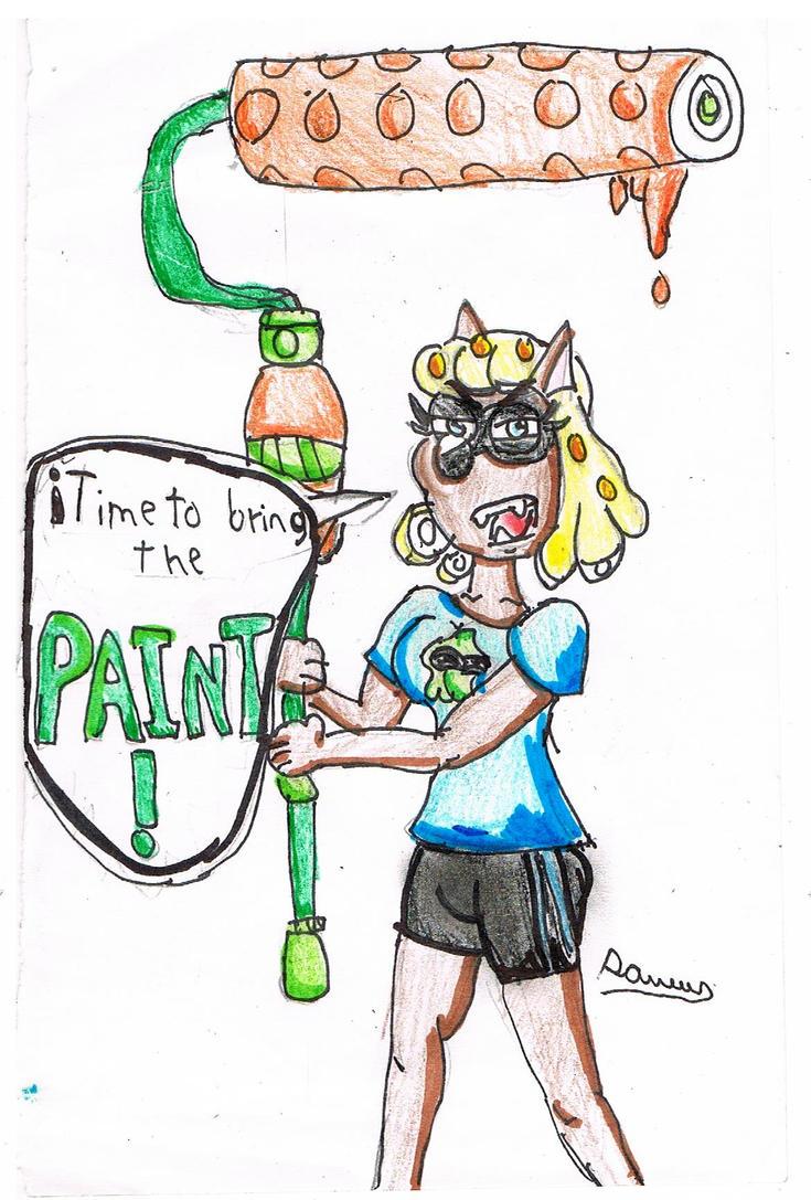 Inkling Wendy by Cartoontriper