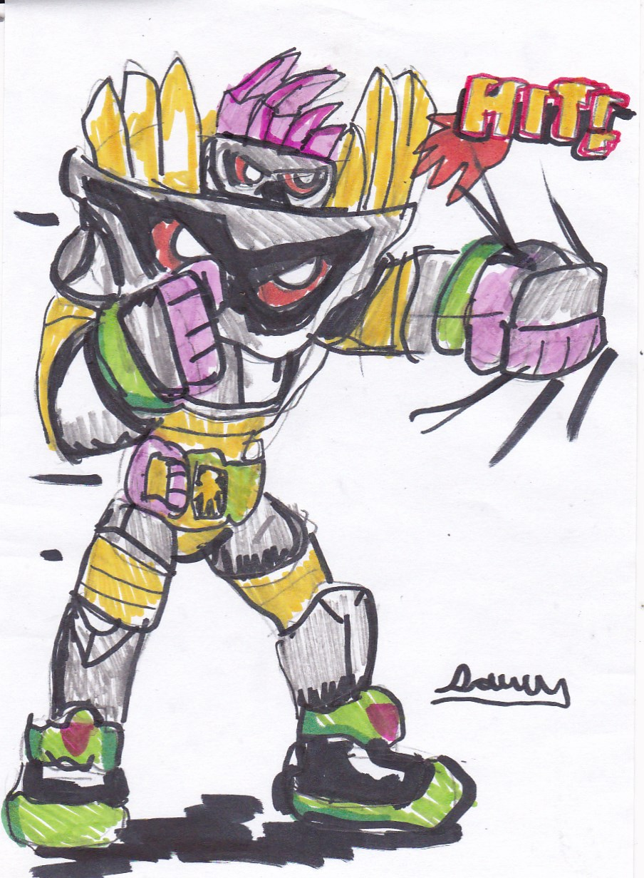 Maximum Mighty X punch by Cartoontriper