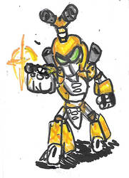 Metabee by Cartoontriper