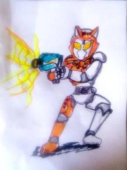 Rushing Cheetah Kamen Rider Valkyrie