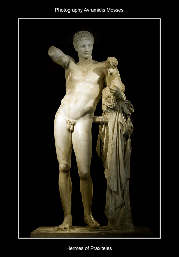 Hermes of Praxiteles by Mosses-avramidis