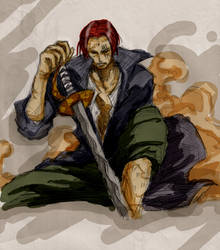 Red-Haired Shanks by cxian