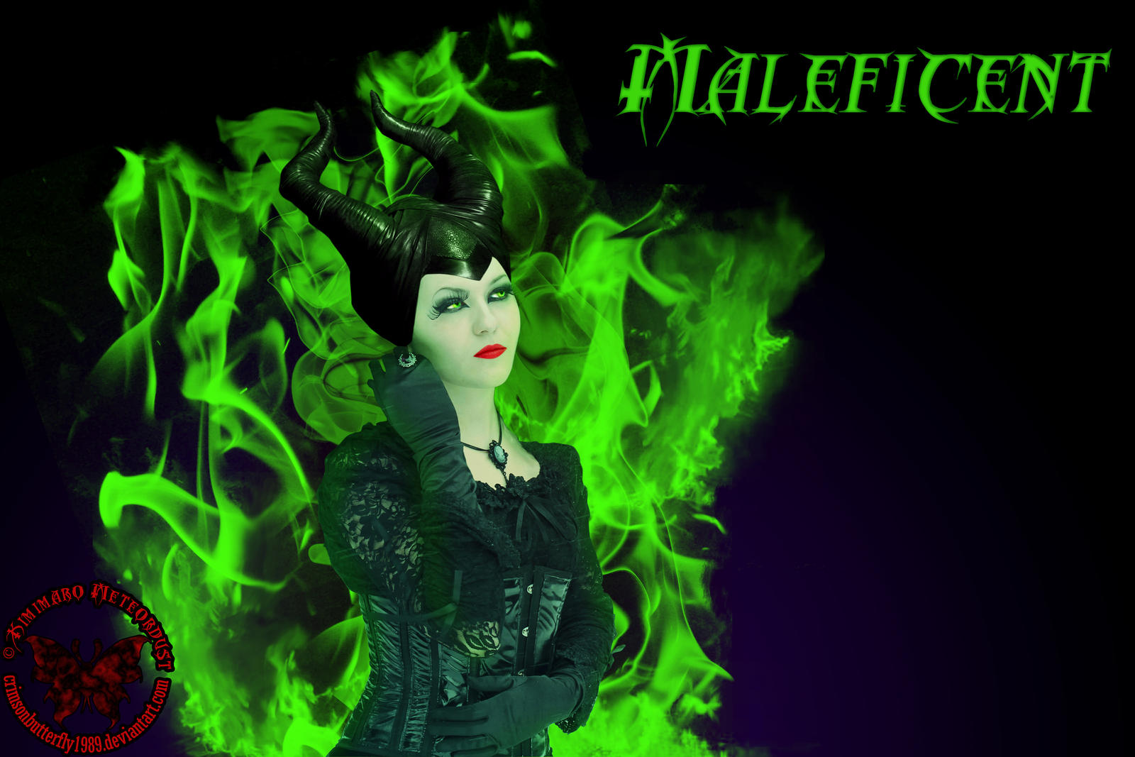 Maleficent - Photomanipulation by Kimimaro-Meteordust