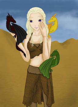 Daenerys Targaryen color