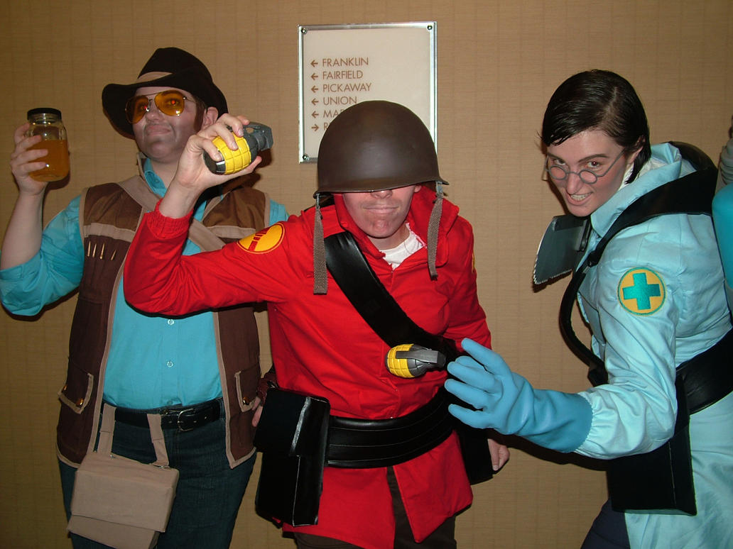 Team Fortress Cosplay by Hasanti