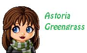 Astoria Greengrass - Yearbook Photo by Bronniii
