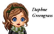 Daphne Greengrass - Yearbook Photo by Bronniii
