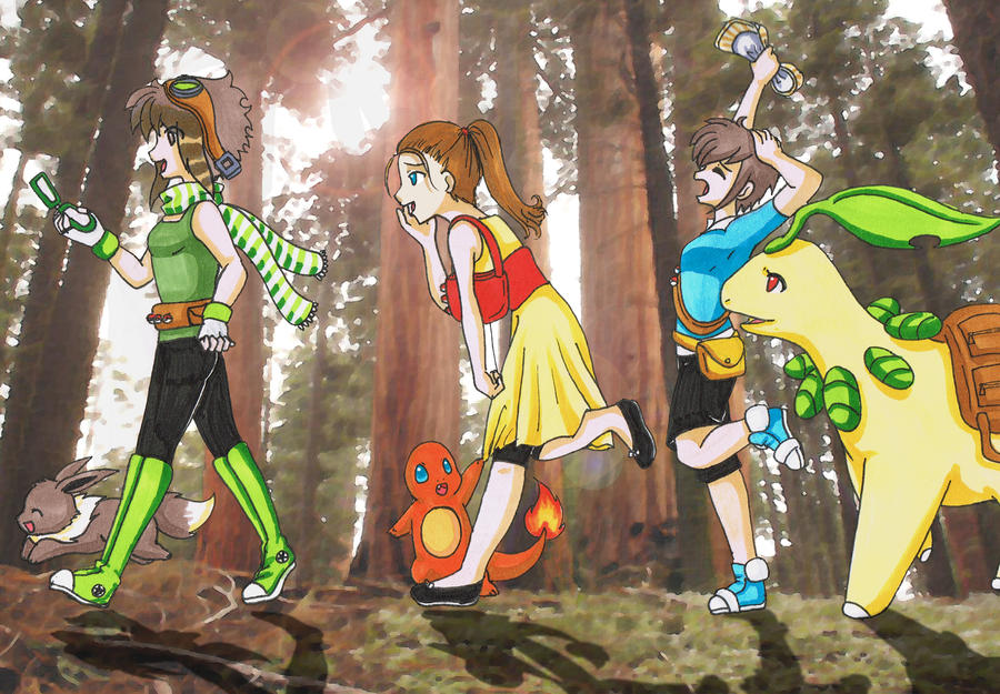 Pokemon Adventure by SakuraRose12 on DeviantArt