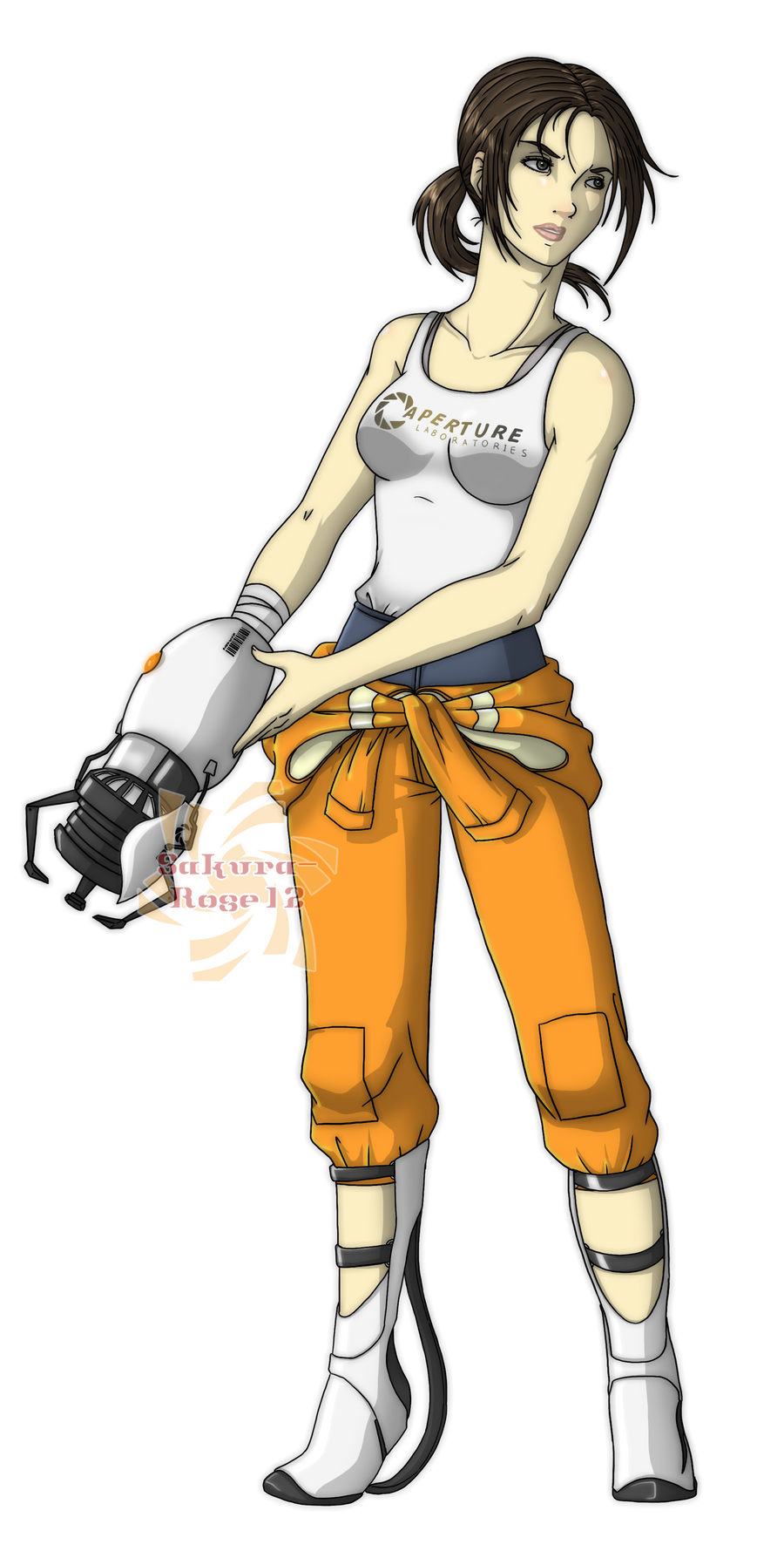 ::Chell:: by Sakura-Rose12