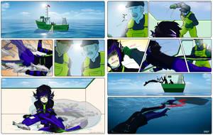 Comic Commiss: BearTamerAllen by Sakura-Rose12