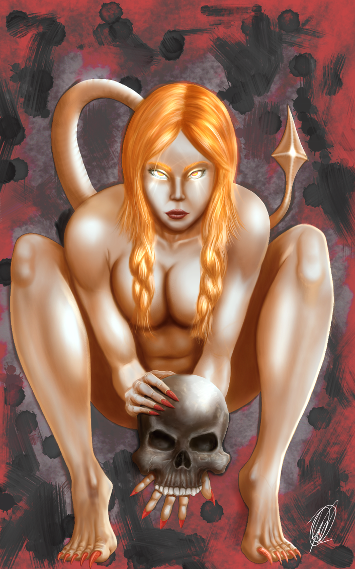 Devil's daughter by willianchou