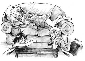 Sister Comics by RatixLangrisser