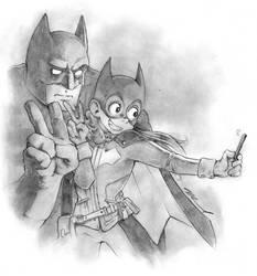 Bat Selfie by RatixLangrisser