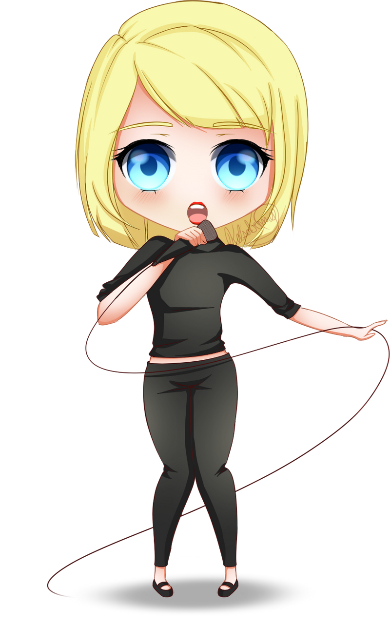 Taylor Swift Chibi - Shake It Off by KelsoBunny on DeviantArt