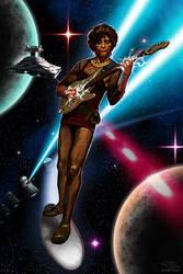 Space Age Guitar Hero