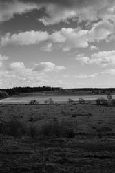 View from Fjalkinge Backe by BAproductions