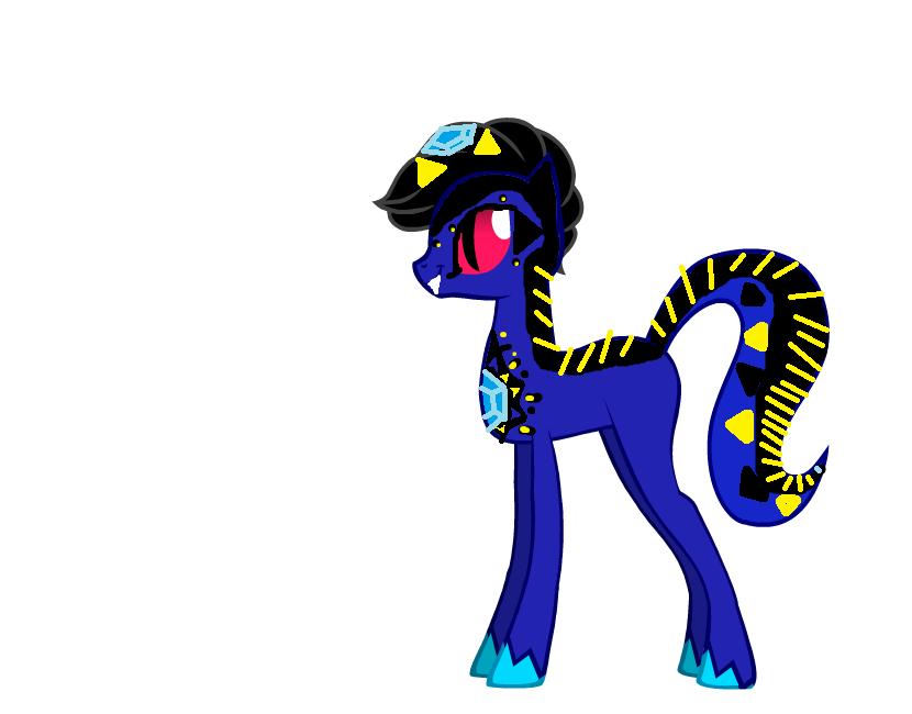 ponyfied serpents4 pythor from ninjagoperla5333 on
