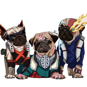 My Hero Pug Academia