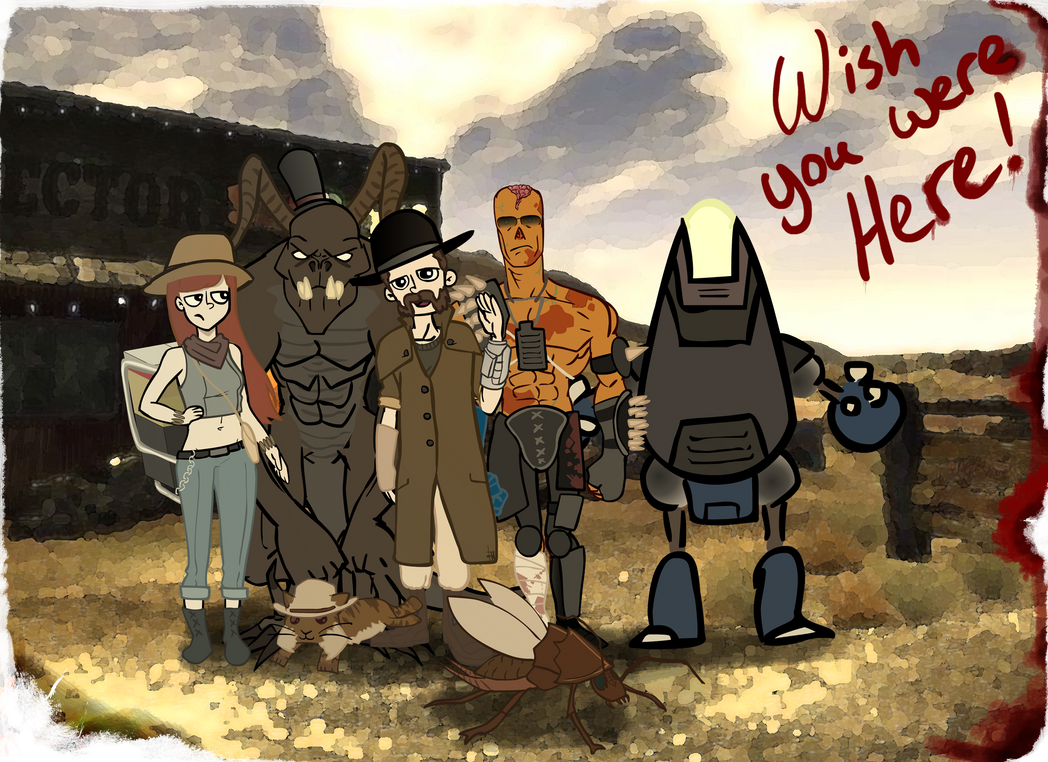 Al and the gang by Ran2Chaos