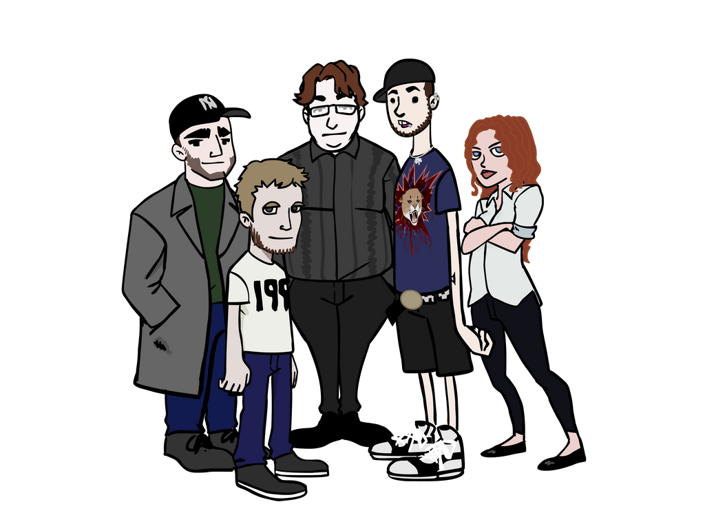 Real life friends the animation by ran2chaos on deviantart Real life friends apartment