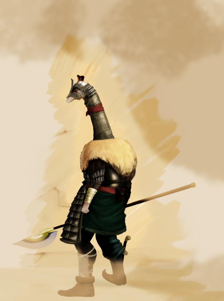 Giraffe Hero by Ran2Chaos