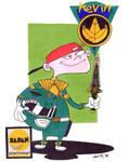 Kevin as Green Ranger (Ed, Edd n Eddy)