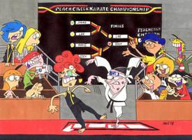 Ed, Edd n Eddy (The Karate Kid) (Fight) by jajuruns90rebels