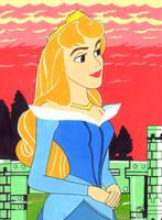 Princess Aurora (Sleeping Beauty) by jajuruns90rebels