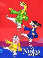 Ed, Edd n Eddy (3 Ninjas Kick Back) by jajuruns90rebels