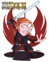 Eddy as Anakin Skywalker (Ed, Edd n Eddy) by jajuruns90rebels