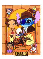 Yuna+Stitch (Indiana Jones) (Lucasfilm) by jajuruns90rebels
