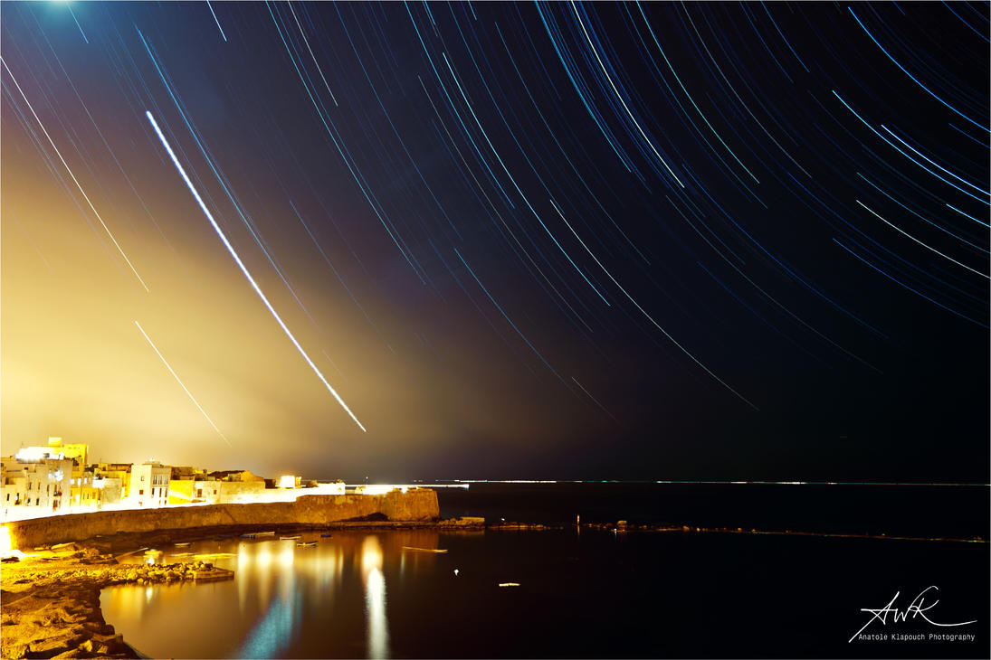 Trapani Star Trails ver2 by klapouch
