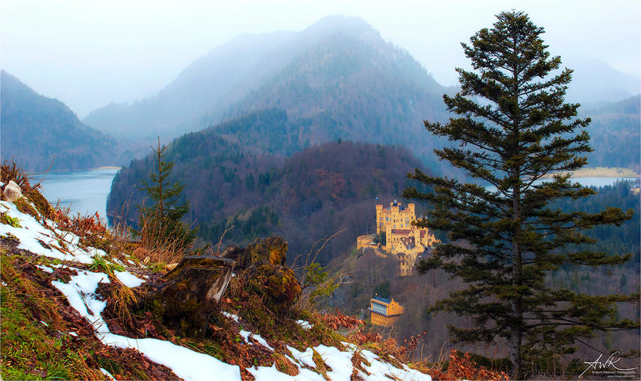 Hohenschwangau by klapouch