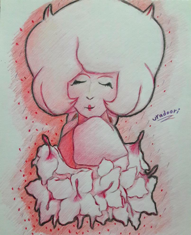Steven Universe - Pink Diamond Un pequeño dibujo que hice de la mamá de Steven :3 <3 🌺🌺🌺🌺🌺🌺🌺🌺🌺🌺🌺...