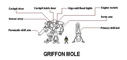 Griffon Mole