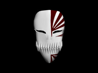 Ichigo 39 s hollow mask by raven shadow on deviantart - Ichigo vizard mask ...