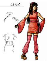 Avatar OC - Li Huo by earz-and-go