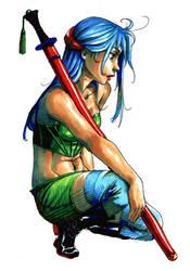 Copic Warrior