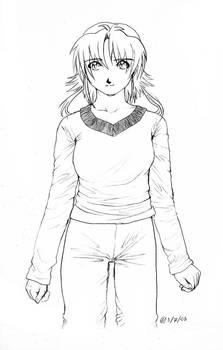 Standing Girl Design