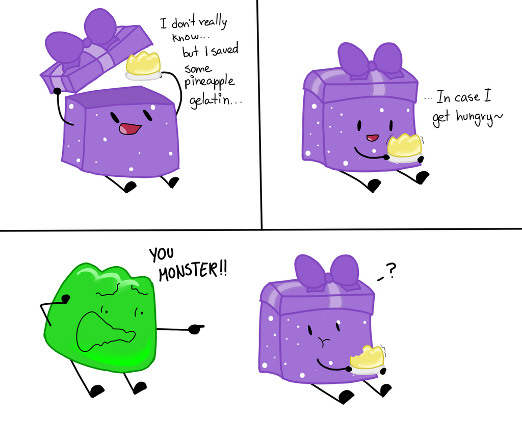 Bfdi Object Inside By ArtBloqued On DeviantArt