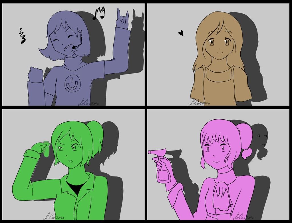 The newbies Girls version by xX-ArtBloqued-Xx